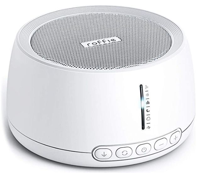 Lautsprecher Einschlafhilfe mit 30 beruhigen Geräuschen für 18,19€ (statt 26€)   Prime
