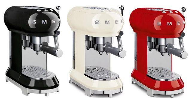 SMEG Espressomaschine ECF01 in verschiedenen Farben für 250,25€ (statt 313€)