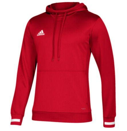adidas Performance Team 19 Hoody in Rot und Blau für je 23,96€ (statt 30€)