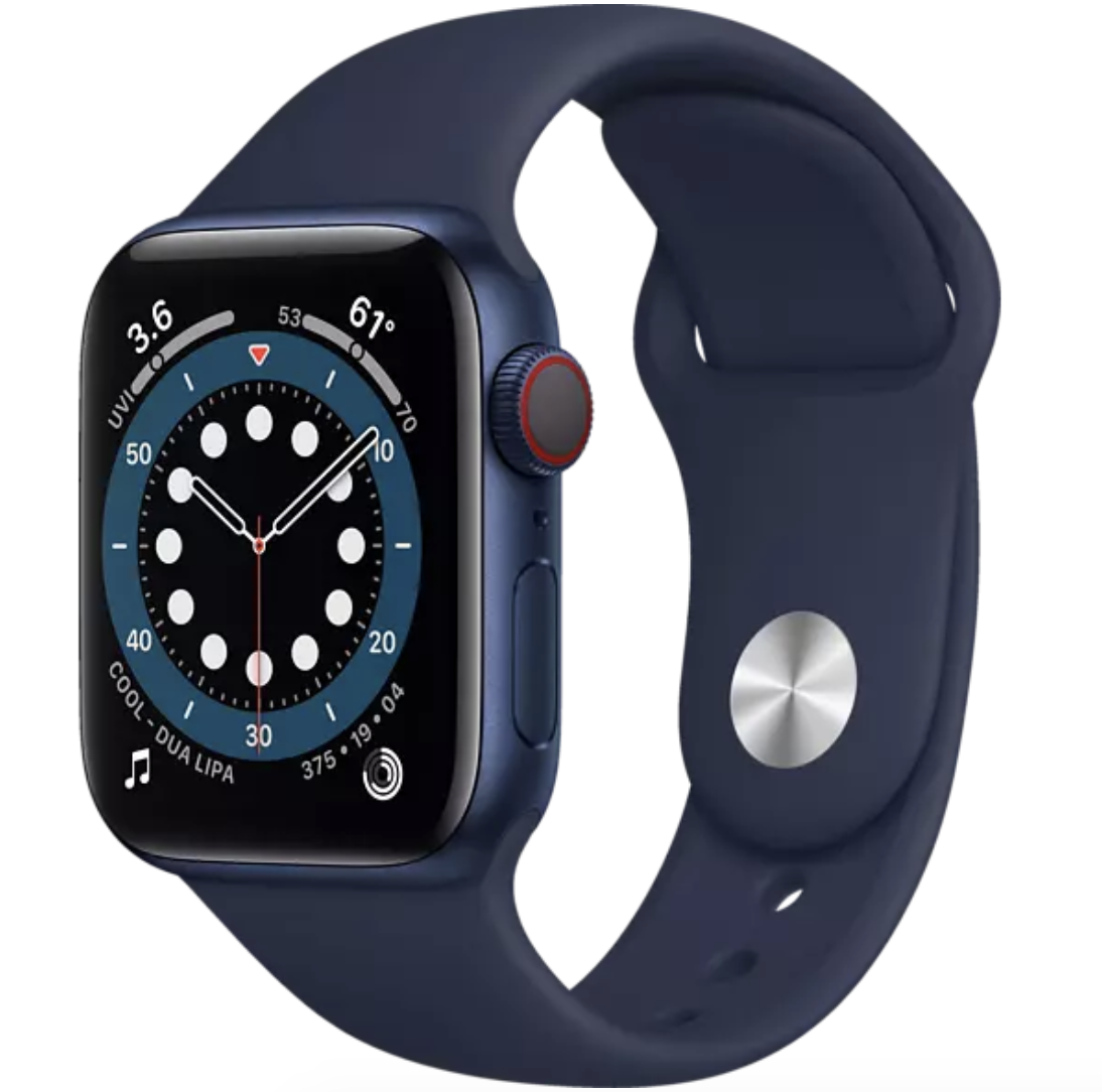 Apple Watch Series 6 (GPS + Cellular) 40mm für 426,29€ (statt 485€)