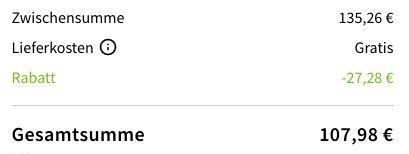 Apple AirPods 2. Generation mit Ladecase für 107,98€ (statt 127€)