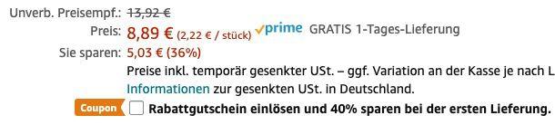 Fehler? 4er Pack Voltaren Wärmepflaster Rücken ab 1,33€(statt 8€)