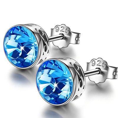 Sellot Ohrringe aus 925er Sterling Silber mit Swarovski Kristallen für 8,99€ (statt 26€)