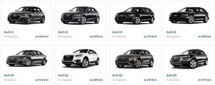 Audi Gebrauchtwagen Wochen mit geprüften Jahreswagen (max. 18 Monate)   2 neue Händler mit vielen Deals!
