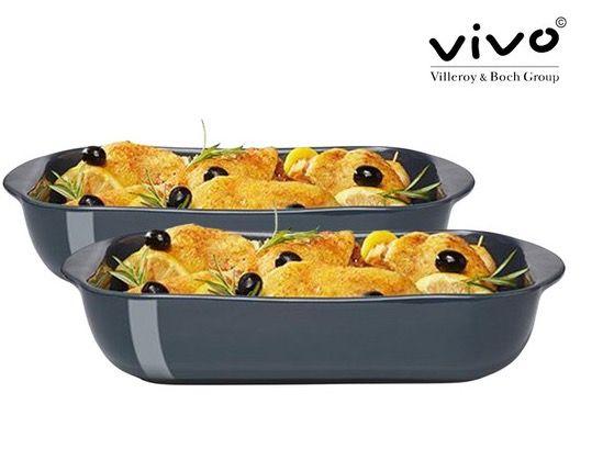 2er Set Vivo by Villeroy & Boch Auflaufform aus Steingut für 21,90€ (statt 48€)
