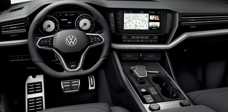 Gewerbe: VW Touareg R Line Black Style V6 TDI mit 231 PS für 417,60€   LF: 0.54