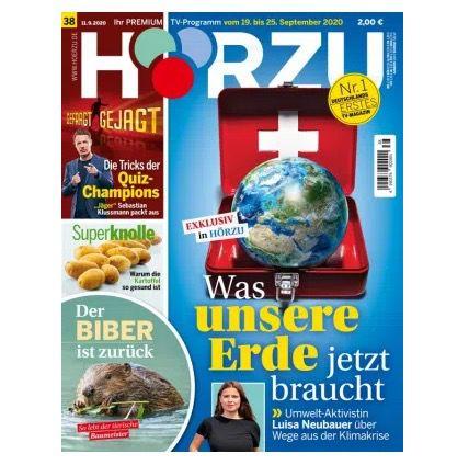 52x Hörzu Programmmagazin für 121,90€ + Prämie: 120€ Gutschein – oder direkt einmalig 19,90€
