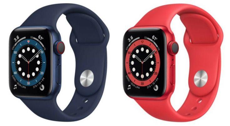 Apple Watch Series 6 GPS 44mm für 402,66€ oder 40mm für 376,33€   und weitere Modelle!