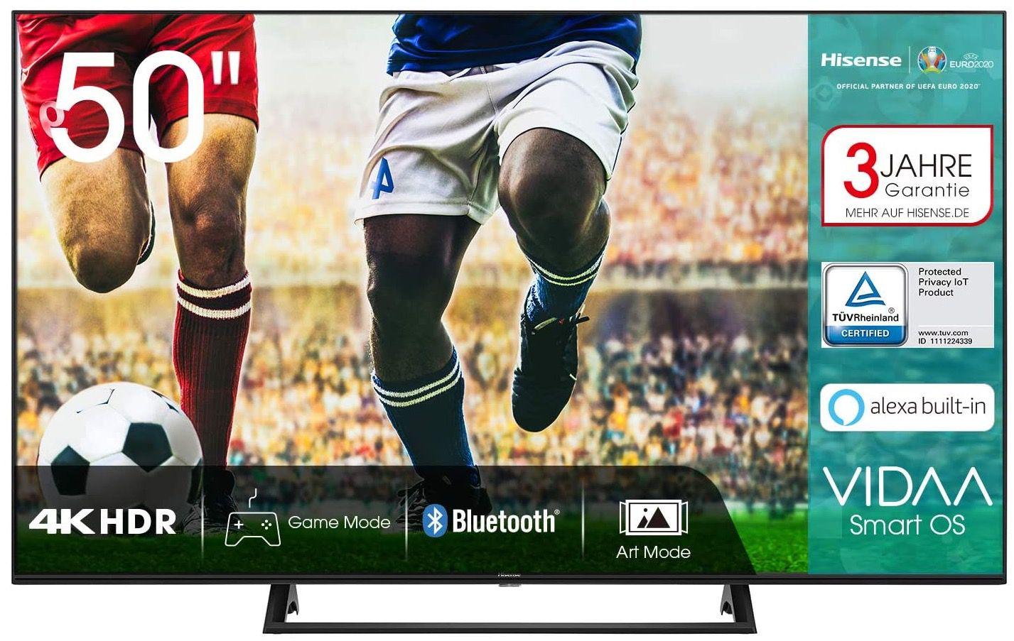 Hisense 50AE7200F   50 Zoll UHD Fernseher für 299€ (statt 379€)