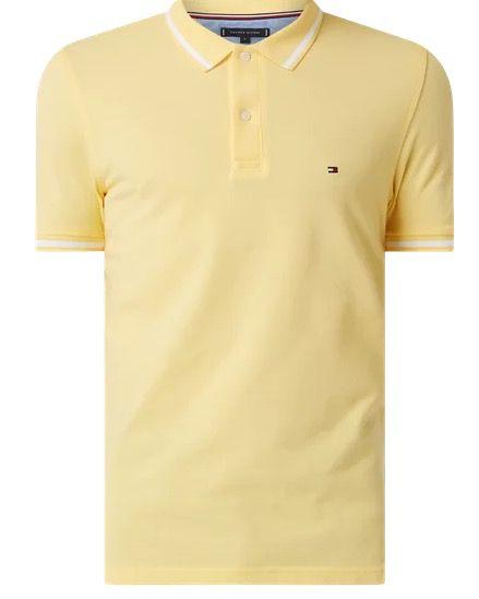 Tommy Hilfiger Regular Fit Poloshirt aus Piqué in 2 Farben und nur Größe L für 23,99€ (statt 53€)