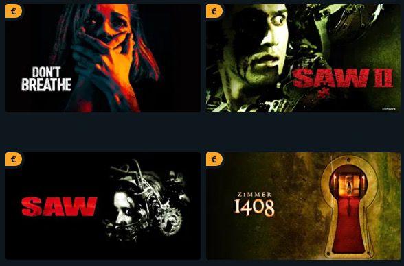 Amazon Halloween Special: Grusel Filme in HD für je 0,97€ leihen