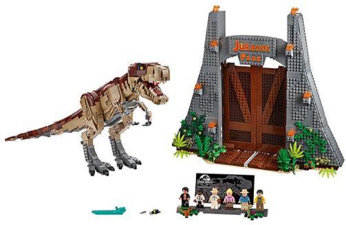 Lego Jurassic World   Jurassic Park: T Rex Verwüstung (75936) für 201,94€ (statt 225€)