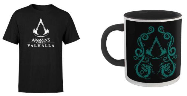 Assassins Creed Valhalla T Shirt und Tasse für 11,48€ (statt 26€)