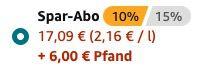24er Packs San Pellegrino (Aranciata, Limonata, Aranciata Rossa, Pompelmo) ab 17,09€ zzgl. 6€ Pfand