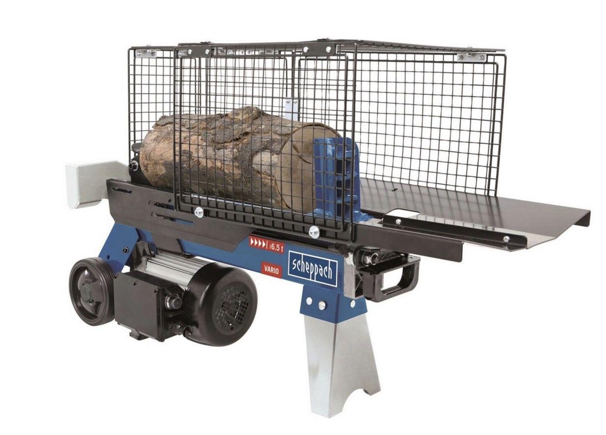 Scheppach Holzspalter HL660 6,5t Hydraulikspalter für 209€ (statt 246€)