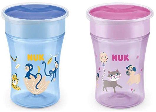 4er Pack NUK Magic Cup Trinklernbecher ab 22,26€ (statt 32€)