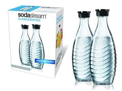 2x SodaStream Glaskaraffe 0,6 Liter für 15,99€ (statt 19€)