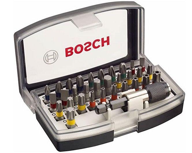 Bosch Professional 32tlg. Schrauberbit Set für 9,15€ (statt 14€)   Prime