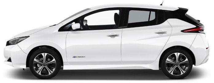 Privat & Gewerbe: Nissan Leaf ZE1 mit 150PS inkl. Winter Paket in Pearl White für 89€ mtl.   LF 0,33