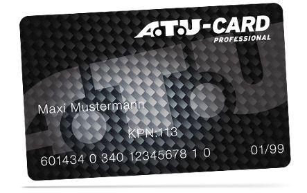 Kostenlose A.T.U. Kunden  und Bezahlkarte + 30€ Guthaben für den nächsten Einkauf geschenkt