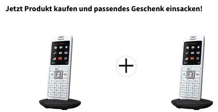 2x Gigaset Mobilteil CL660HX DECT mit Farbdisplay für 59,99€ (statt 89€)