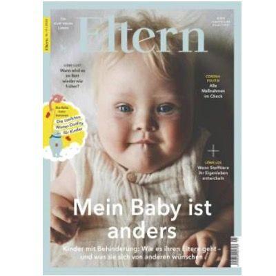 Jahresabo der Zeitschrift Eltern für 56,40€ + 50€ Amazon Gutschein