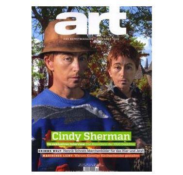12 Ausgaben Art Kunst Magazin für 168€ + 90€ Amazon Gutschein