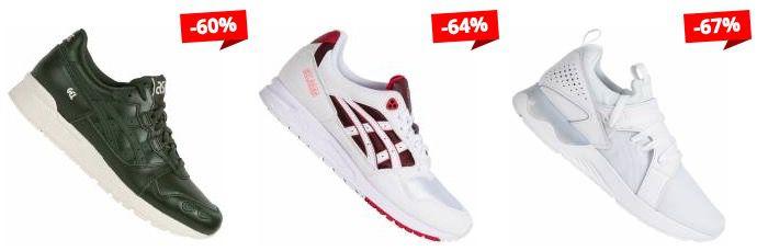 Asics Sneaker Sale bei SportSpar   z.B. Asics Gel Lyte V Sanze für 48,94€ (statt 66€)