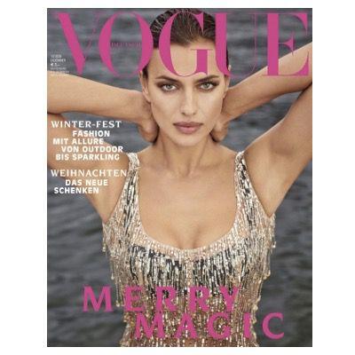 9 Ausgaben Vogue für 66,60€ + Prämie: 60€ Verrechnungs-Scheck