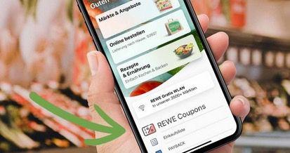 REWE: 1,50€ Rabatt ab 15€ Einkauf   Coupon in der App
