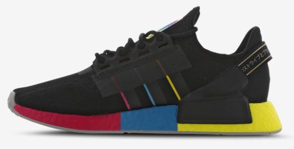 adidas NMD R1 V2 Sneaker mit bunter Boost Sohle in Schwarz für 69,99€(statt 100€)