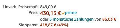 Ernsthaft? Apple Mac Pro Wheels Kit für 430,13€ (statt 721€)