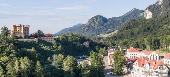 2 ÜN bei Neuschwanstein im 4* Hotel inkl. Frühstück, Wellness und ÖPNV ab 204€ p.P.