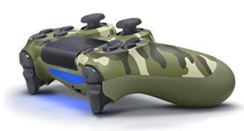 Sony Dualshock 4 Wireless Controller in Grün Camouflage für 54€ (statt 74€)