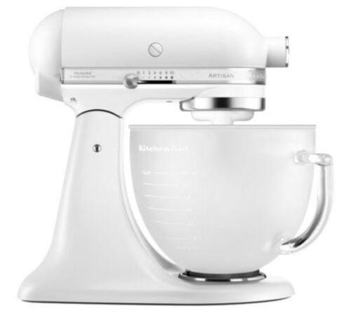 KitchenAid Artisan 5KSM156 Küchenmaschine mit Glasschüssel für 377€ (statt neu 465€)   refurbished