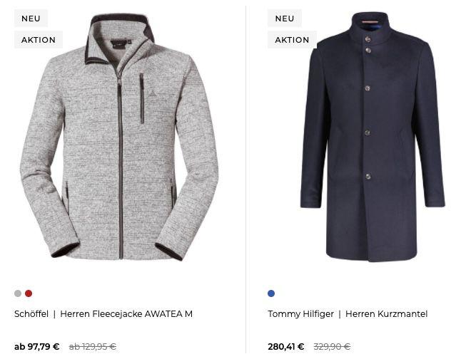 engelhorn mit 15% Rabatt auf alle Jacken & Mäntel   z.B. Wellensteyn Leuchtcraft Winterjacke für 217,71€ (statt 260€)