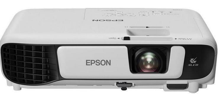 Epson EB W42 3 LCD Projektor WXGA für 373,61€ (statt 460€)