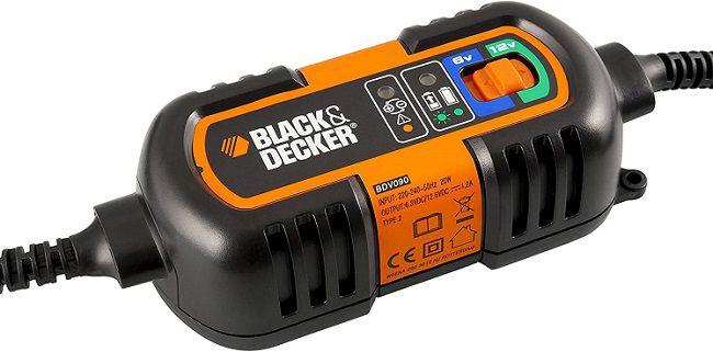 Black & Decker Erhaltungs Batterieladegerät BDV090 mit 6/12 Volt für 14,99€ (statt 27€)