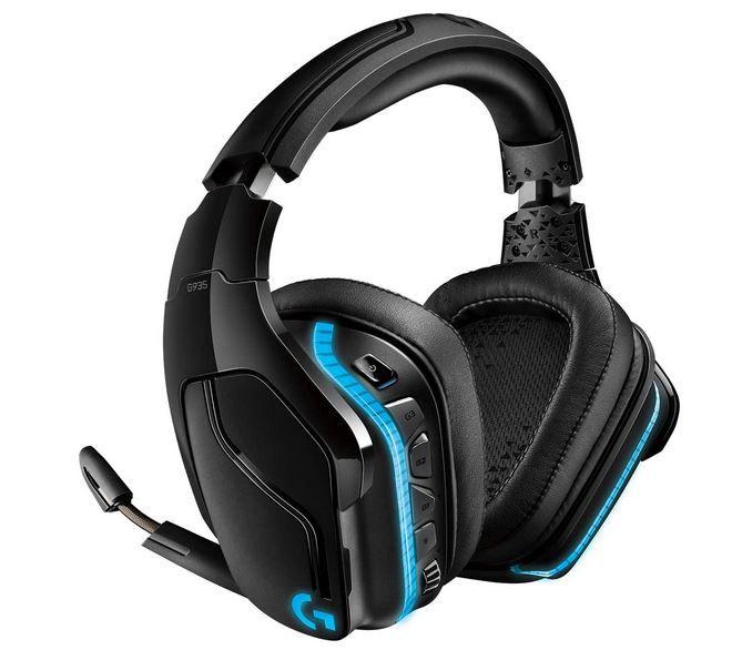 LOGITECH G935 wireless Over ear Gaming Headset für 96,51€ (statt 139€)