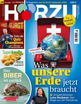 52x Hörzu Programmmagazin für 121,90€ + Prämie: 120€ Gutschein   oder direkt einmalig 19,90€