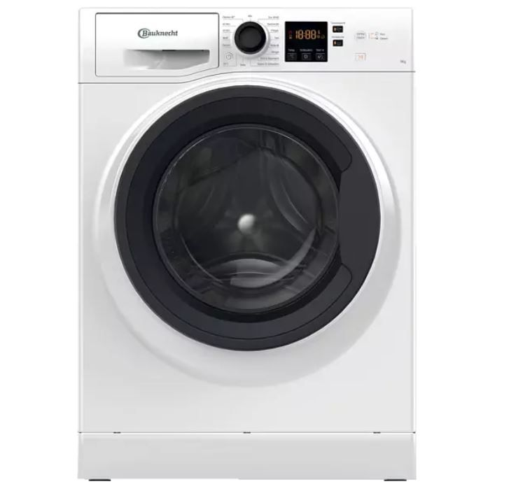 BAUKNECHT WM 9 M100 Waschmaschine (9 kg, 1400 U/Min., A+++) ab 330,21€ (statt 448€)