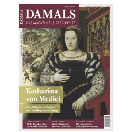 DAMALS Jahresabo für 97,66€ + Prämie: 100€ Amazon Gutschein