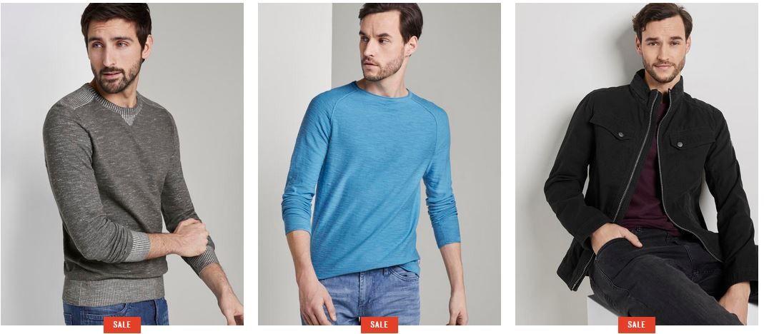 Tom Tailor BlackWeek Sale mit bis 50% Rabatt + heute: 20% Extra Rabatt (kein MBW)