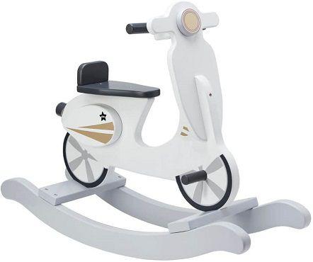 Kids Concept Schaukel Scooter in grau/weiß für 59,99€ (statt 85€)