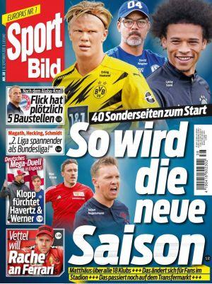 26 Ausgaben Sport Bild für 67,60€ + 70€ Gutschein