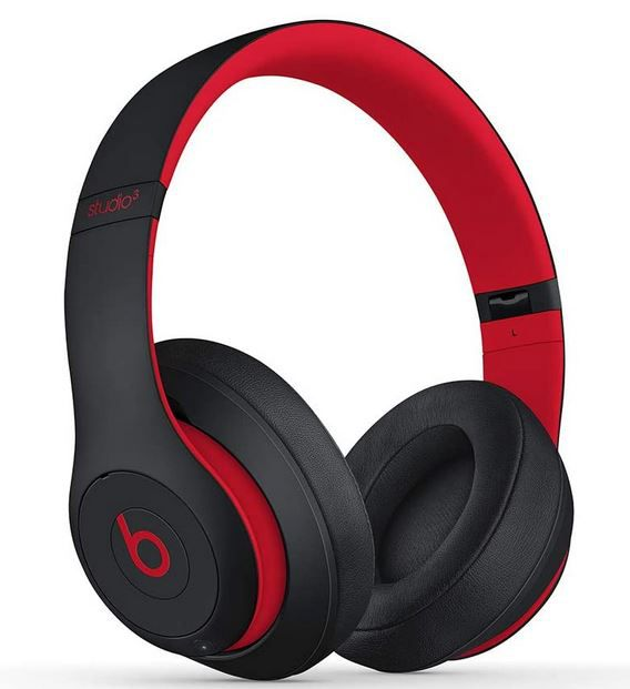 BEATS Studio 3 Wireless OverEar Kopfhörer in Schwarz Rot für 210€(statt 266€)