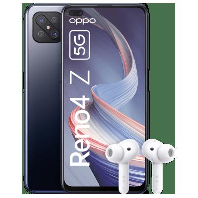🔥 Oppo Reno 4Z 5G + Kopfhörer für nur 1€ + o2 Flat mit 7GB LTE für 17,99€mtl.