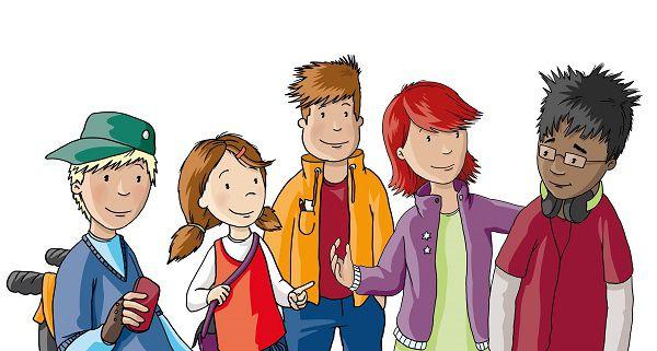 Gratis: Kinderbücher Die Bunte Bande 1   5 als Hörbuch downloaden