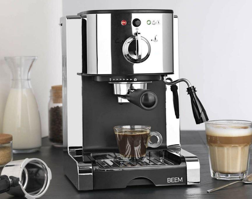 Beam Perfect Espresso Siebträgermaschine 20 bar für 109,99€ (statt 130€)
