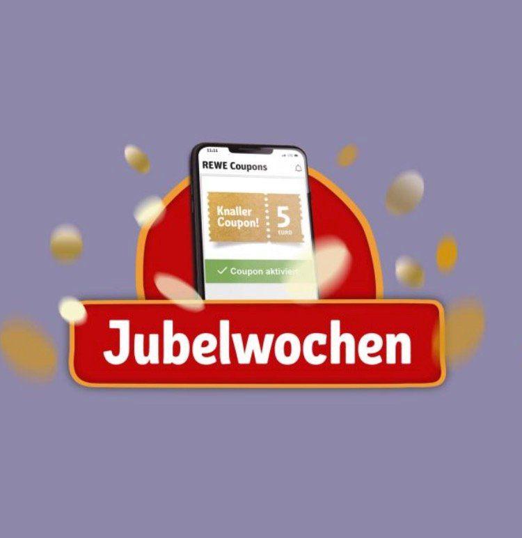 REWE: 5€ Rabatt ab 40€ Einkauf   Coupon in der App